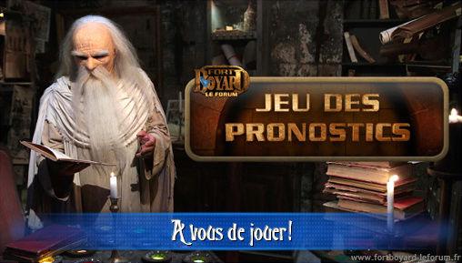 [FERME] Vos pronostics pour l'émission 1 du samedi 27/06/2015 Pronos10