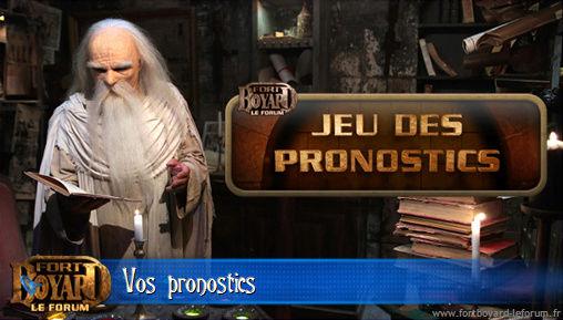 [FERME] Vos pronostics pour l'émission 6 du samedi 02/08/2014 Pronos14