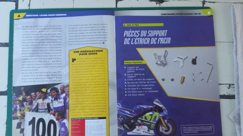 Construisez la moto YZR-M1 de Valentino Rossi en partenariat avec ALTAYA 20180122