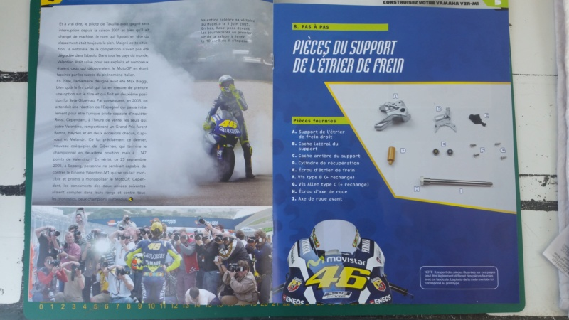 Construisez la moto YZR-M1 de Valentino Rossi en partenariat avec ALTAYA 20180132