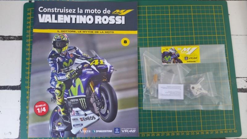 Construisez la moto YZR-M1 de Valentino Rossi en partenariat avec ALTAYA 20180135