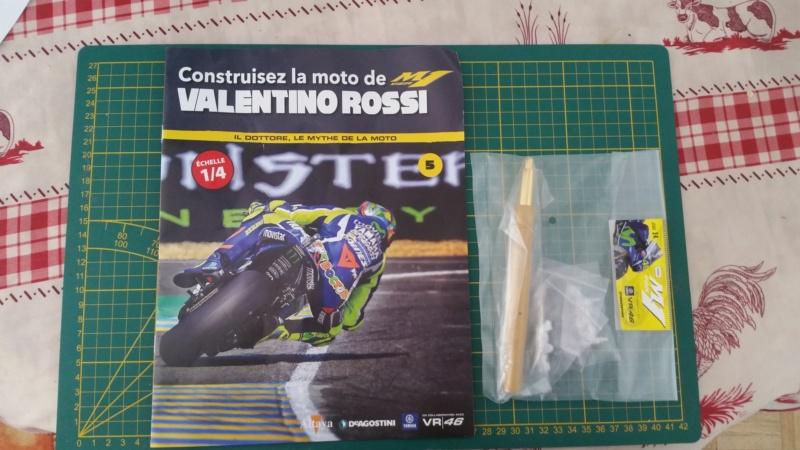 Construisez la moto YZR-M1 de Valentino Rossi en partenariat avec ALTAYA 20180737