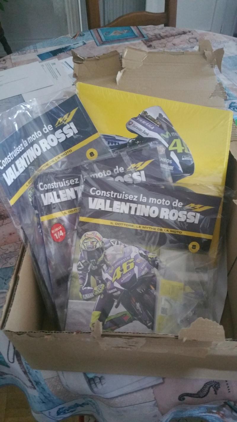 Construisez la moto YZR-M1 de Valentino Rossi en partenariat avec ALTAYA 20180738