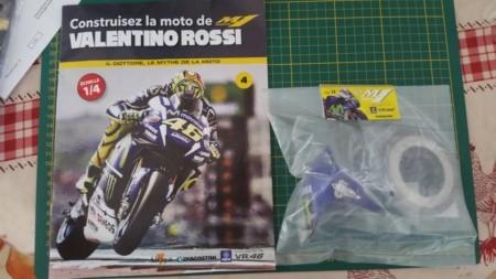 Construisez la moto YZR-M1 de Valentino Rossi en partenariat avec ALTAYA 20180740