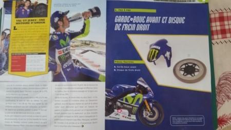 Construisez la moto YZR-M1 de Valentino Rossi en partenariat avec ALTAYA 20180741