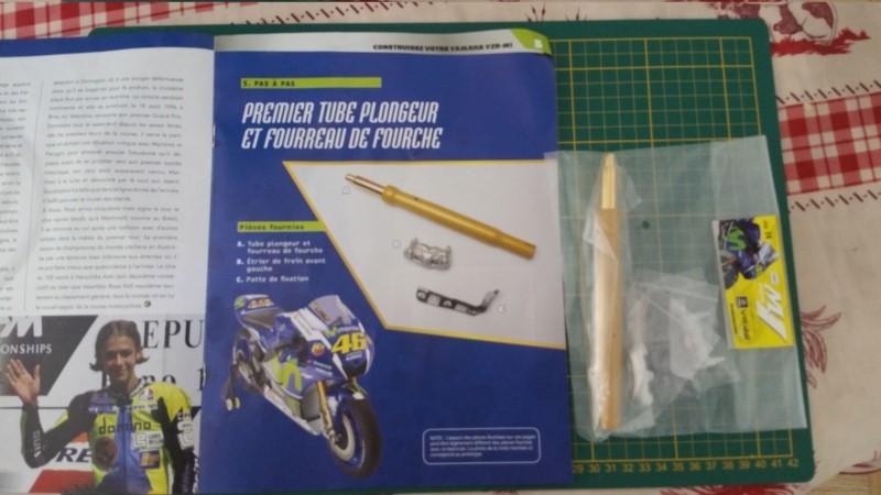Construisez la moto YZR-M1 de Valentino Rossi en partenariat avec ALTAYA 20180743