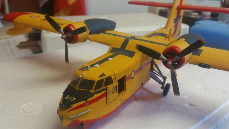 CANADAIR CL-215 maquette HELLER au 1/72° ameliorations NHDetail, scale aircraft conversions & Syhart - Page 2 20180824