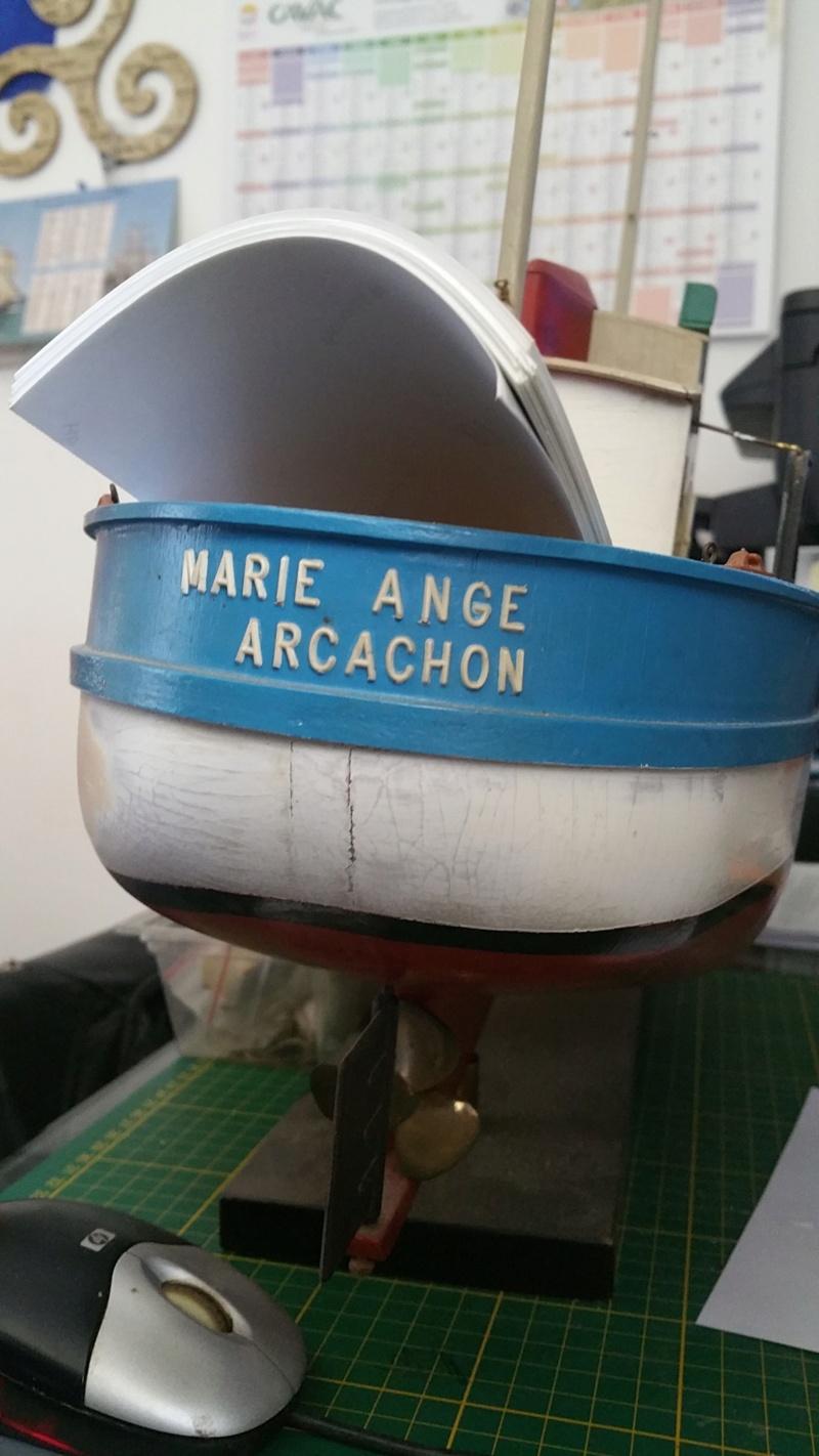 Rénovation et motorisation  d'une Marie-Ange de New Maquette 20200354