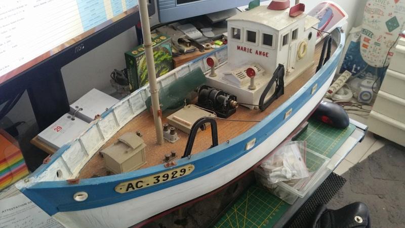 Rénovation et motorisation  d'une Marie-Ange de New Maquette 20200356