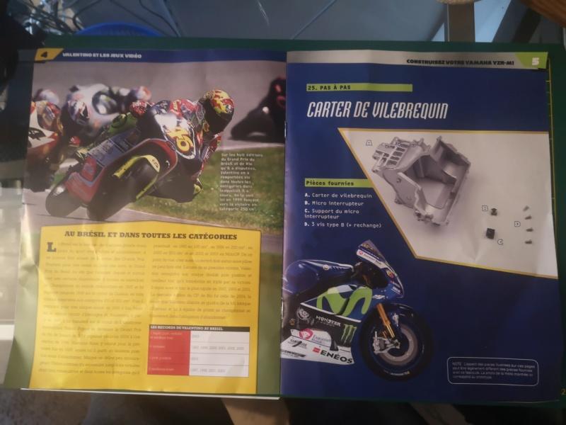 Construisez la moto YZR-M1 de Valentino Rossi en partenariat avec ALTAYA Img_2315