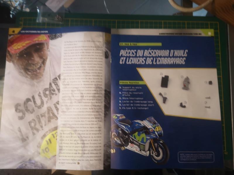 Construisez la moto YZR-M1 de Valentino Rossi en partenariat avec ALTAYA Img_2325