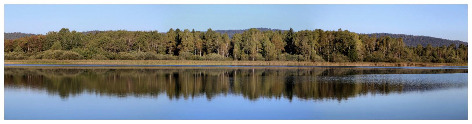 Le lac de l'abbaye de Granvaux Abbaye10