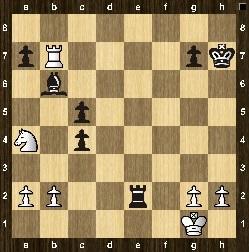 Position test, trait aux noirs 2511