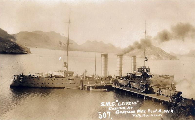 Croiseurs allemands - Page 2 Leipzi10