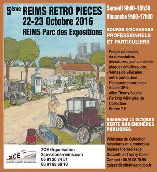 5ème Reims Rétro Pièces 2ce-1710