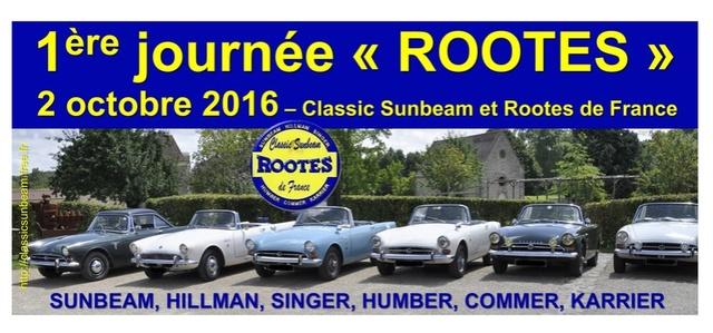 2ème Rallye du Classic Sunbeam et ROOTES de France le 2 octobre2016 Journy11