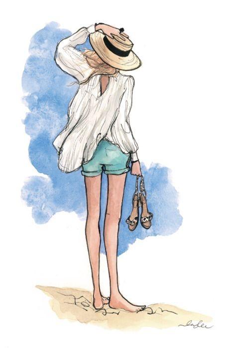 """Illustrations ... pour l'été ... Plage et """"farniente"""" ... - Page 3 0c118010"""