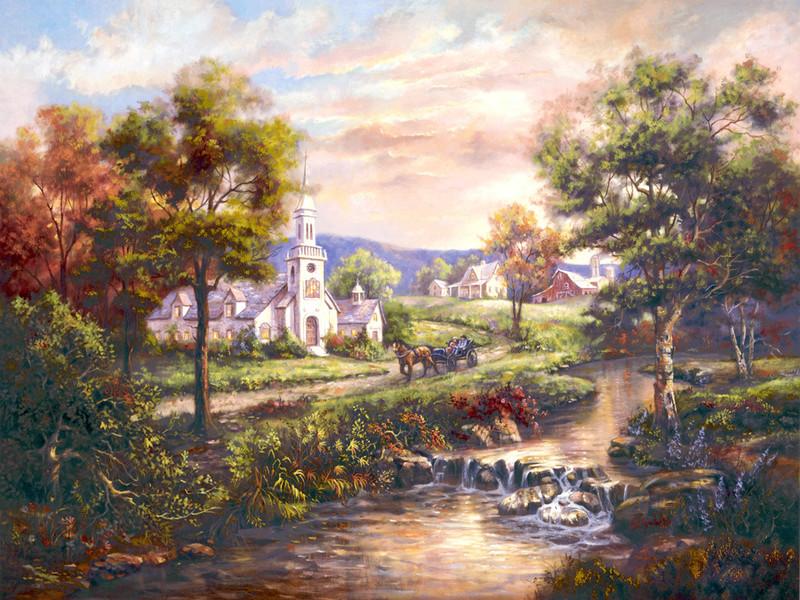 L'eau paisible des ruisseaux et petites rivières  - Page 4 1056310