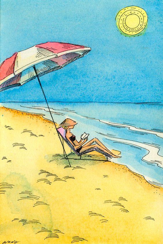"""Illustrations ... pour l'été ... Plage et """"farniente"""" ... - Page 4 157cb210"""