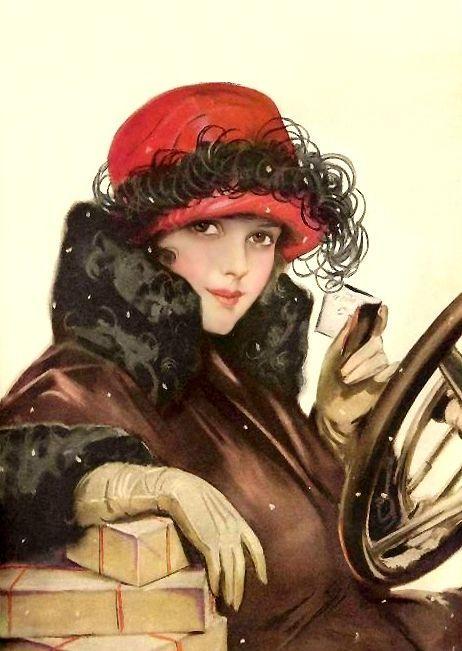 """Des élégantes  """"chapeautées"""" ... - Page 6 255a5e10"""