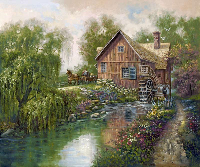 L'eau paisible des ruisseaux et petites rivières  - Page 4 281710