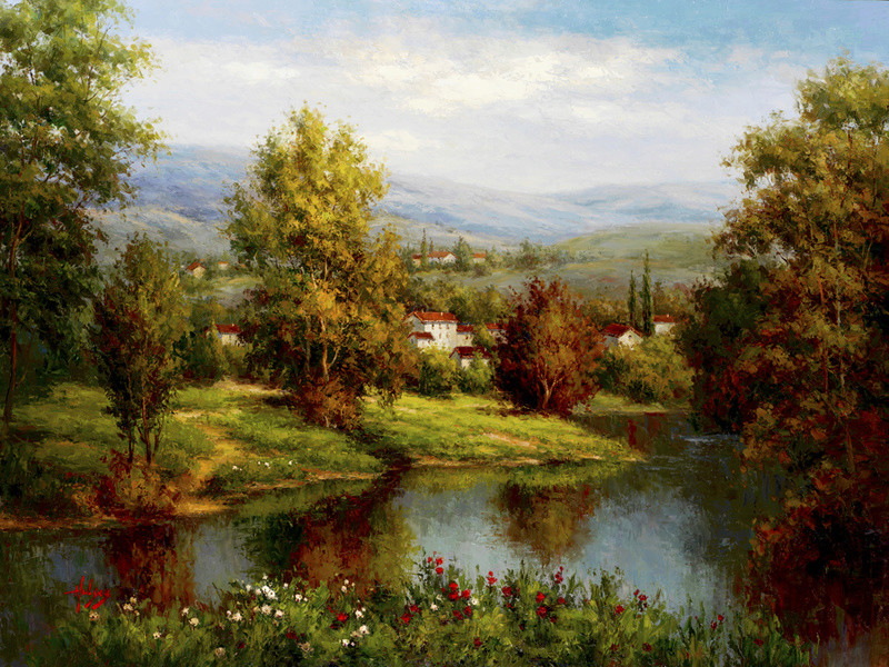 L'eau paisible des ruisseaux et petites rivières  - Page 4 3243110