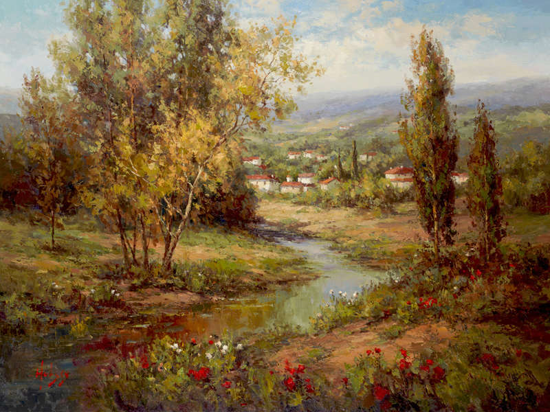 L'eau paisible des ruisseaux et petites rivières  - Page 3 3248510