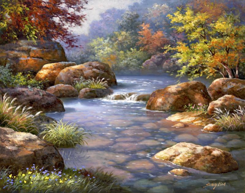 L'eau paisible des ruisseaux et petites rivières  - Page 3 3603610