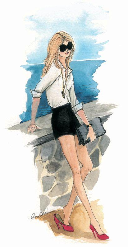 """Illustrations ... pour l'été ... Plage et """"farniente"""" ... - Page 4 3713aa10"""