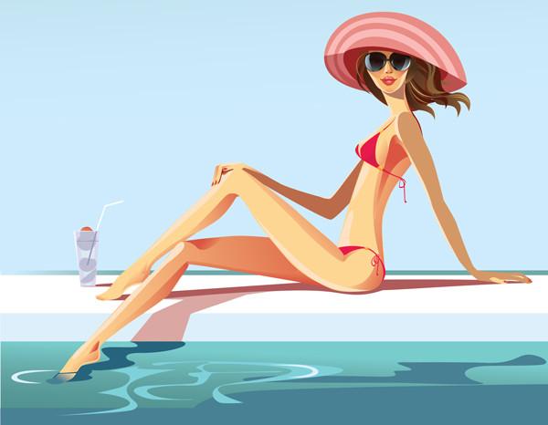 """Illustrations ... pour l'été ... Plage et """"farniente"""" ... - Page 3 3b185a10"""