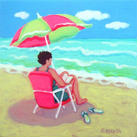 """Illustrations ... pour l'été ... Plage et """"farniente"""" ... - Page 3 3e997610"""