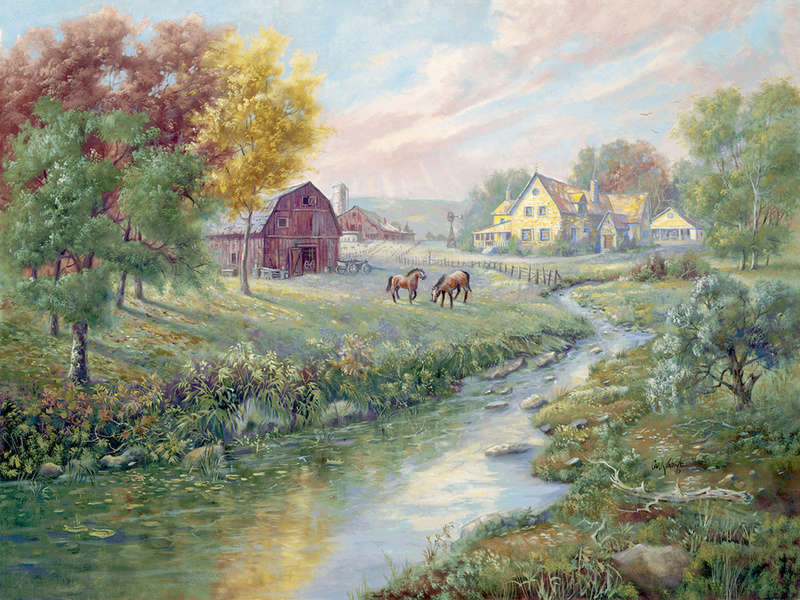 L'eau paisible des ruisseaux et petites rivières  - Page 4 562310