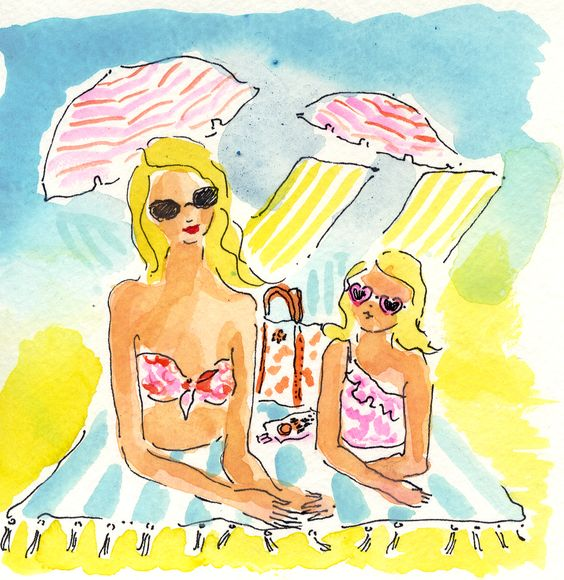 """Illustrations ... pour l'été ... Plage et """"farniente"""" ... - Page 4 61558f10"""