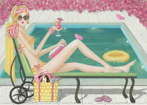 """Illustrations ... pour l'été ... Plage et """"farniente"""" ... - Page 4 67bce810"""