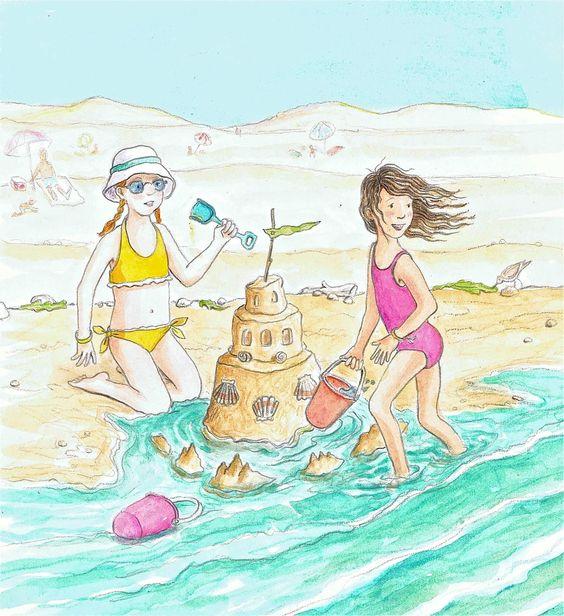 """Illustrations ... pour l'été ... Plage et """"farniente"""" ... - Page 5 72873a10"""