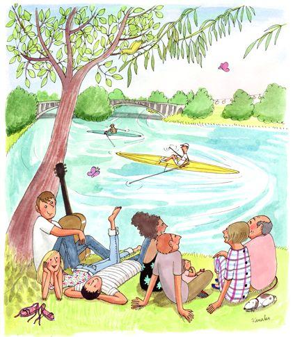 """Illustrations ... pour l'été ... Plage et """"farniente"""" ... - Page 5 812fc510"""