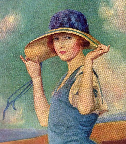 """Des élégantes  """"chapeautées"""" ... - Page 6 8e8a2a10"""