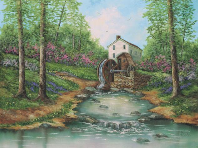 L'eau paisible des ruisseaux et petites rivières  - Page 3 937d7b10