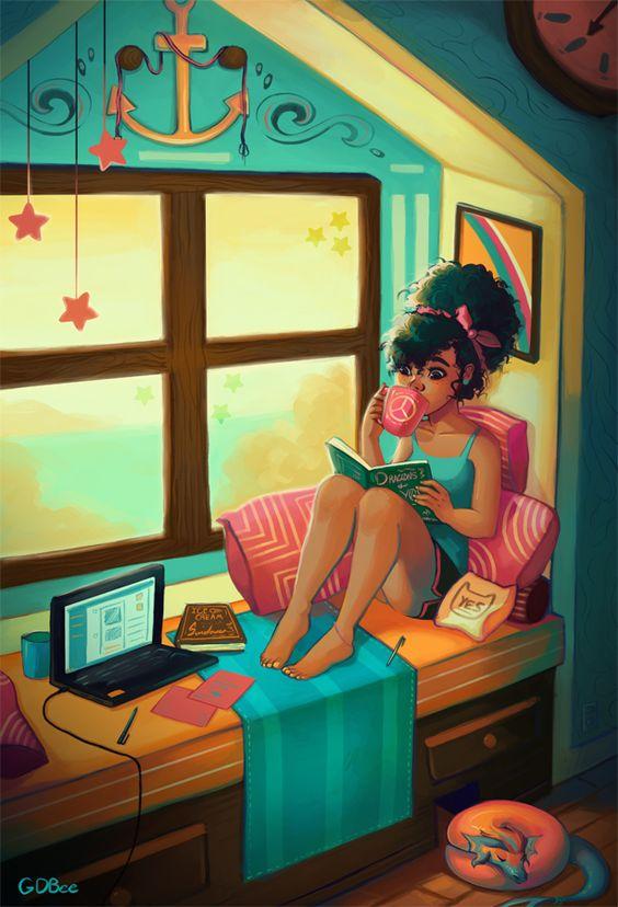 La lecture, une porte ouverte sur un monde enchanté (F.Mauriac) - Page 2 98997e10