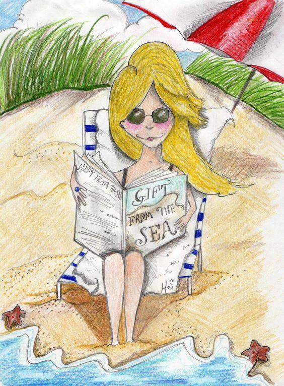 """Illustrations ... pour l'été ... Plage et """"farniente"""" ... - Page 4 9e0a2c10"""
