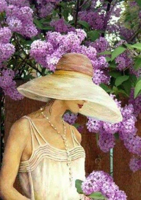 """Des élégantes  """"chapeautées"""" ... - Page 3 Aa209510"""