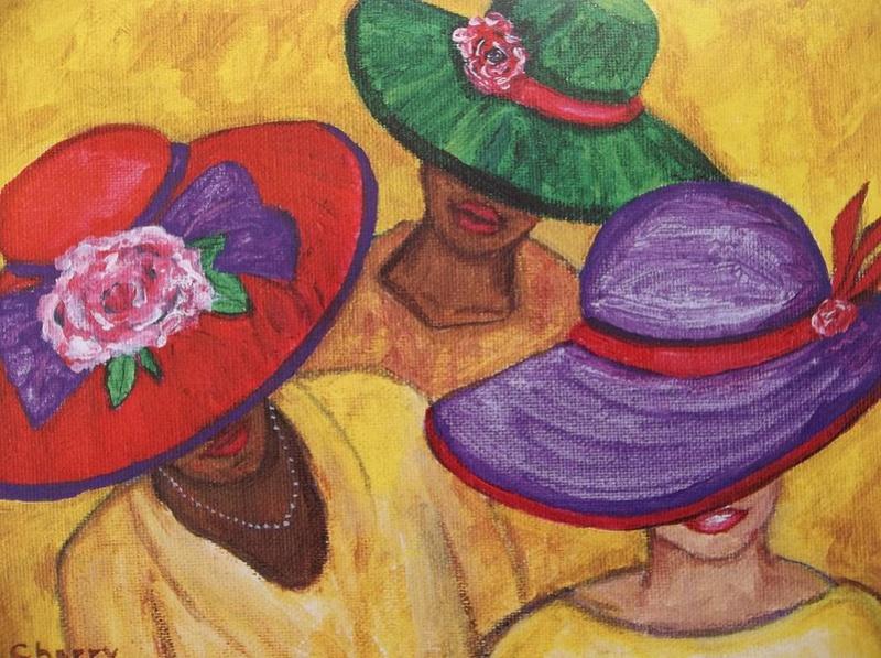 """Des élégantes  """"chapeautées"""" ... - Page 6 All-ab10"""