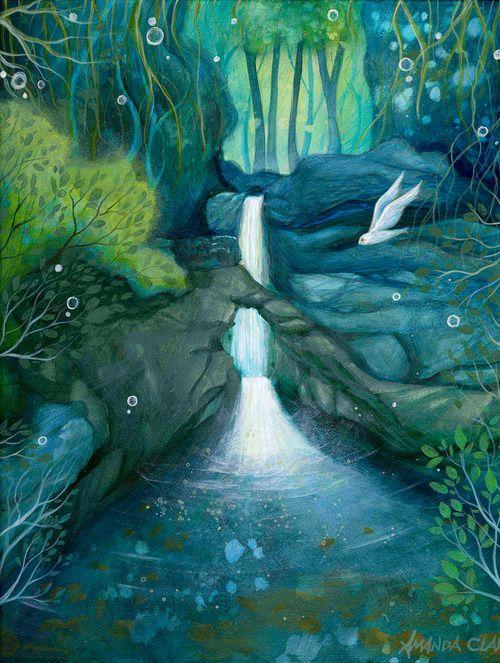L'eau paisible des ruisseaux et petites rivières  - Page 5 Amanda10
