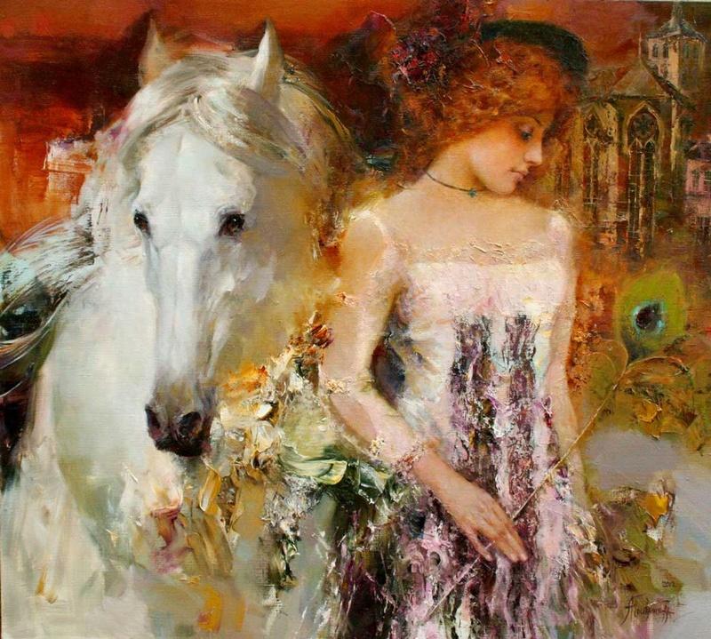 La  FEMME  dans  l' ART Angeli11