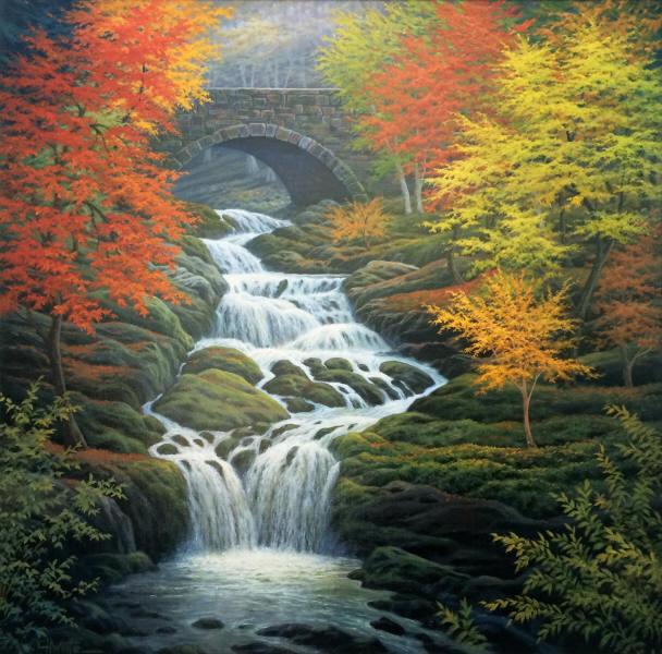L'eau paisible des ruisseaux et petites rivières  - Page 3 Cascad10