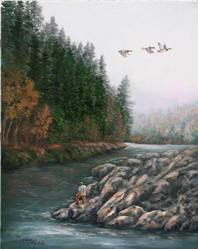 L'eau paisible des ruisseaux et petites rivières  - Page 3 Collid10