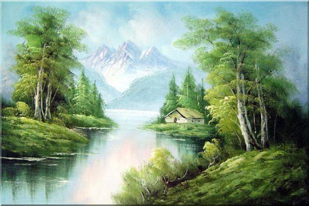 L'eau paisible des ruisseaux et petites rivières  - Page 2 Cottag10