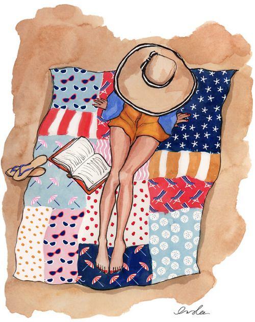 """Illustrations ... pour l'été ... Plage et """"farniente"""" ... - Page 5 D3205f10"""