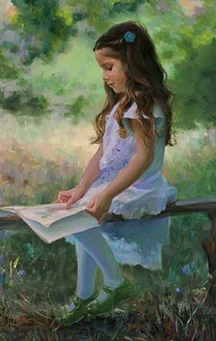 La lecture, une porte ouverte sur un monde enchanté (F.Mauriac) D3925410