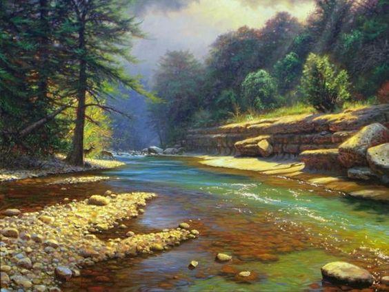 L'eau paisible des ruisseaux et petites rivières  - Page 6 Da668210